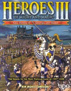 <i>Heroes of Might and Magic III</i> video game