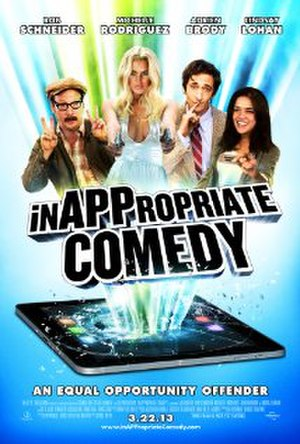Inappropriate Comedy - Theatrical release poster