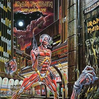 Somewhere in Time (Iron Maiden album) - Image: Iron Maiden Somewhere in Time