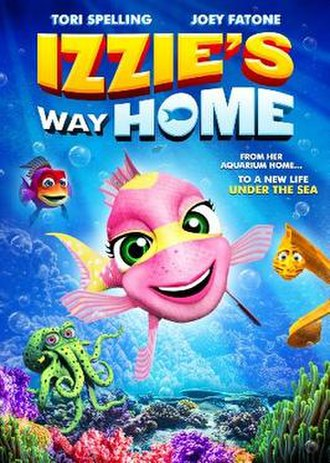 Izzie's Way Home - DVD cover
