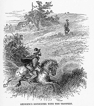 James Renwick (Covenanter) - James Renwick's encounter with the troopers