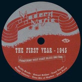 Modern Records - Image: Jelly Johnson Modern