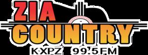 KXPZ - Image: KXPZ 99.5Zia Country logo