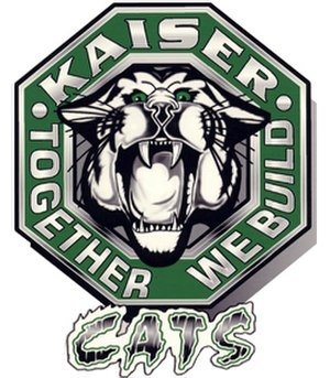 Henry J. Kaiser High School (California) - Image: Kaiser High School seal