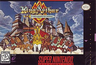 <i>King Arthur & the Knights of Justice</i> (video game) 1995 action-adventure video game