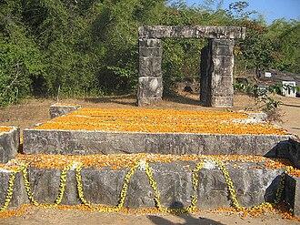Kuvempu - Kuvempu's memorial in Kavishaila, Kuppali