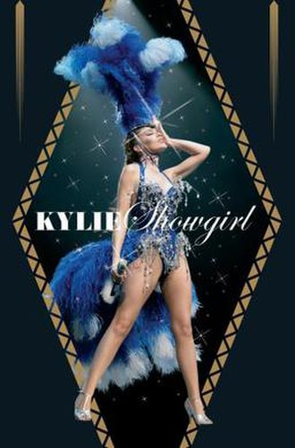 Showgirl (video) - Image: Kyliesghtdvd 05