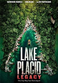 <i>Lake Placid: Legacy</i> 2018 television film by Darrell Roodt