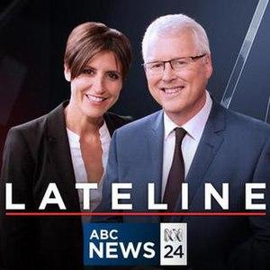 Lateline - Image: Lateline (Australia) titlecard