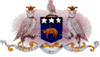 The badge of Leeds City, also the coat of arms of Leeds before 1924