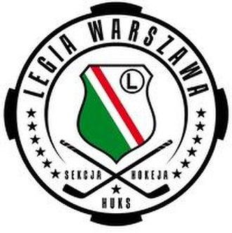 Legia Warszawa (ice hockey) - Image: Legia Warszawa icehockey logo