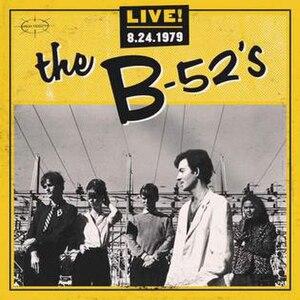 Live! 8-24-1979 - Image: Live! 8 24 1979 album cover