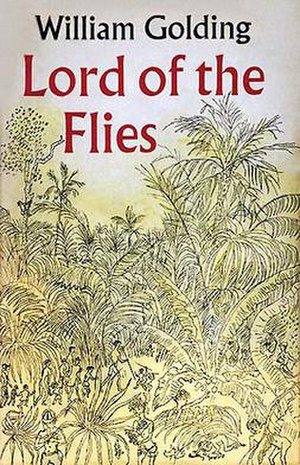 Lord of the Flies - The original UK Lord of the Flies book cover