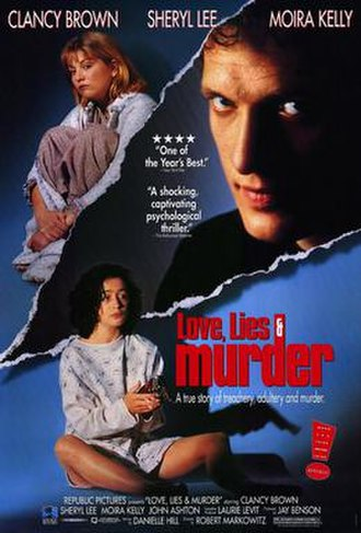 Love, Lies and Murder - Image: Love lies and murder movie poster 1992