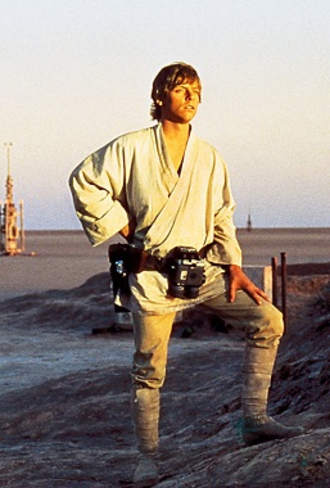 Luke Skywalker - Mark Hamill as Luke Skywalker  in Star Wars: Episode IV – A New Hope (1977)