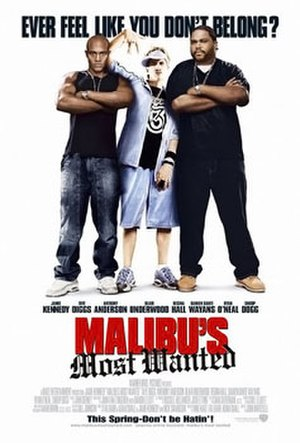 Malibu's Most Wanted - Image: Malibus most wanted film poster