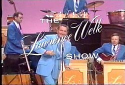 The opening title card for the Lawrence Welk Show
