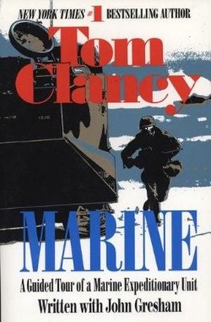 Marine (book) - Image: Marine Clancy