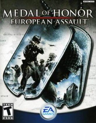 Medal of Honor: European Assault - Image: Medal of Honor European Assault Coverart