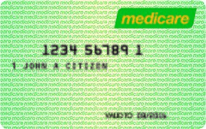 Medicare card (Australia) - Example of a Medicare card