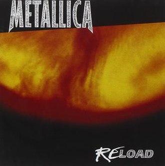 Reload (Metallica album) - Image: Metallica Reload cover