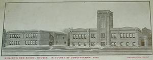 Midland High School (Midland, Michigan) - 1909 school building