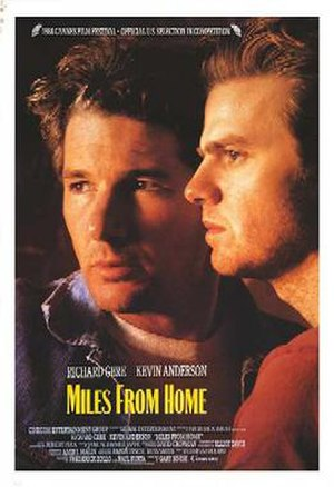 Miles from Home - Theatrical release poster