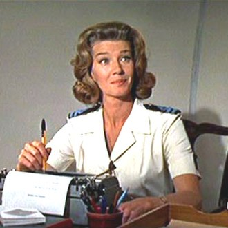 Miss Moneypenny - Lois Maxwell as Moneypenny in You Only Live Twice