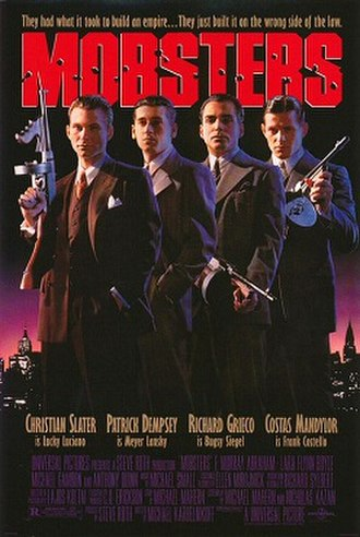 Mobsters - Theatrical release poster