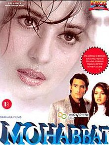 Mohabbat (1997 film) - Wikipedia