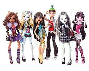 Monster High - Image: Monster High dolls