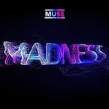 "The word ""madness"" displayed in blue text on a dark background with the Muse logo to the top of the image."