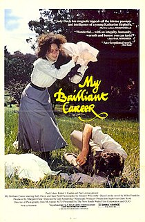 <i>My Brilliant Career</i> (film) 1979 Australian film directed by Gillian Armstrong