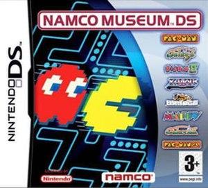 Namco Museum - European Box Art