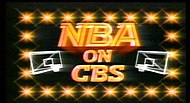 The NBA on CBS logo