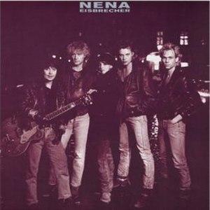 Eisbrecher (Nena album) - Image: Nena Eisbrecher Cover
