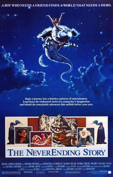 The NeverEnding Story (1984) movie poster