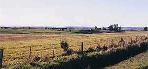 North Otago - Typical North Otago landscape, looking north from near Herbert