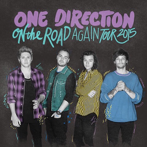 On the Road Again Tour - Promotional poster for the tour
