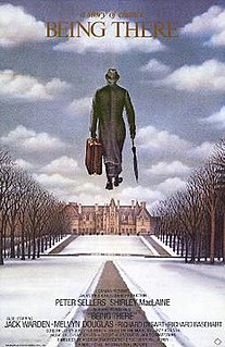 <i>Being There</i> 1979 film by Hal Ashby