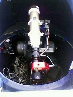 Orioloromano Observatory - Observatory Dome Interior.