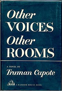 <i>Other Voices, Other Rooms</i> (novel) novel by Truman Capote