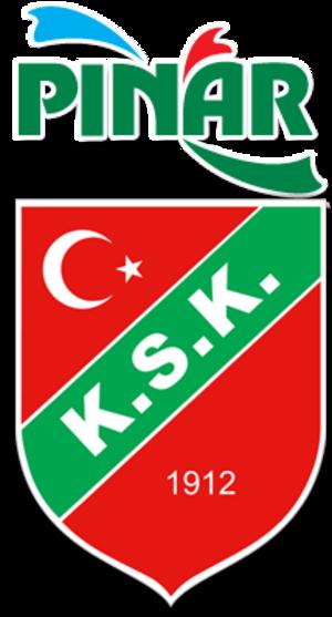Karşıyaka Basket - Image: Pınar Karşıyaka logo