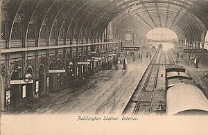 London Paddington station - Paddington Station in the Victorian era