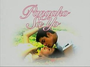 "Telenovela - The original version of Panga ko Sa 'Yo (Filipino for ""A Promise""), known as Philippines' first ever teleserye, is the most widely exported Philippine telenovela internationally. This series precipitated Asia's rise to international prominence on exportation of domestically produced dramas."