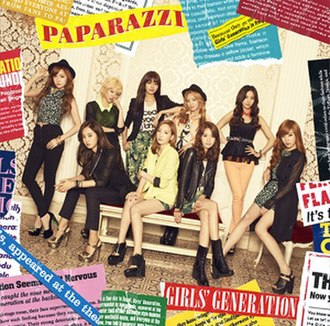 Paparazzi (Girls' Generation song) - Image: Paparazzi SNSD