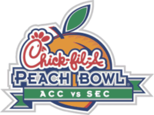 2005 Peach Bowl - Image: Peach Bowl