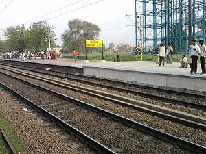 Auraiya district - Phaphund (Dibiyapur) Railway Station