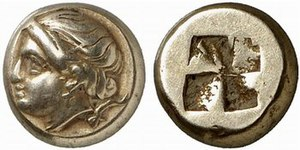 Phocaea - Electrum coinage of Phocaea, 340-335 BC.
