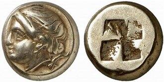 Phocaea - Electrum coinage of Phocaea, 340-335 BC.